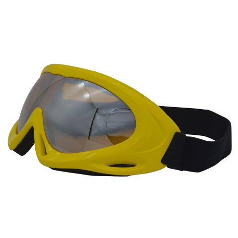 Outfits UV Protection Anti Fog Dustproof Riding Goggles - YELLOW  Mobile