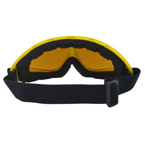 Store UV Protection Anti Fog Dustproof Riding Goggles - YELLOW  Mobile