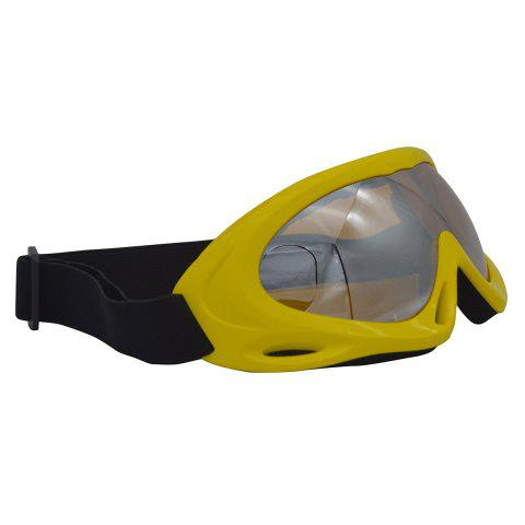 New UV Protection Anti Fog Dustproof Riding Goggles - YELLOW  Mobile
