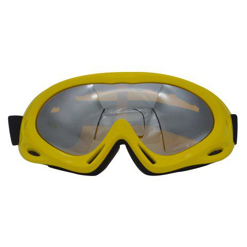 Latest UV Protection Anti Fog Dustproof Riding Goggles YELLOW
