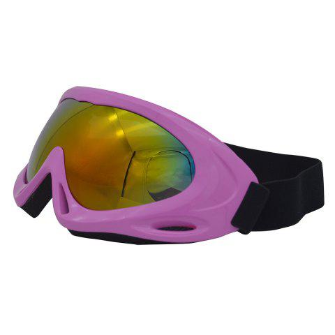 New UV Protection Anti Fog Dustproof Riding Goggles - PINK  Mobile
