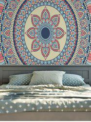 Wall Hangings Tribe Mandala Printed Vintage Tapestry - COLORFUL