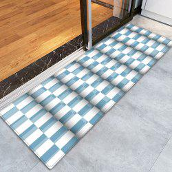 Plaid Pattern Indoor Outdoor Water Absorption Area Rug