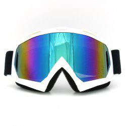 Dustproof UV Protection Off Road Riding Goggles - WHITE