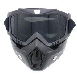 Off Road Detachable Breathable Motorcycle Goggles -