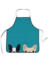 Pet Animal Household Water Resistant Apron - LAKE BLUE