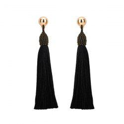 Bohemia Tassel Drop Statement Earrings -
