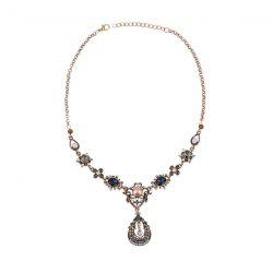 Bohemia Diamond Waterdrop Pendant Necklace