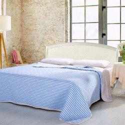 100 Percent Striped Long Stapled Cotton Blanket