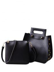 Crossbody Bag and Rivet Handbag