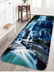 Waterfall Scenic Water Absorption Skidproof Rug