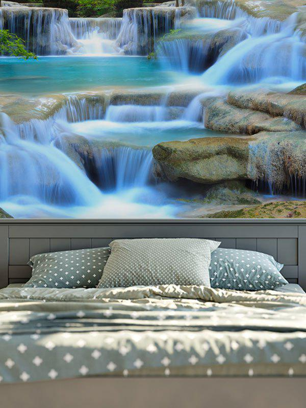 3D Print Magic Landscape Waterfall Wall Hang TapestryHOME<br><br>Size: W79 INCH * L59 INCH; Color: COLORMIX; Style: Fresh Style; Material: Cotton,Polyester; Feature: Removable,Washable; Shape/Pattern: Print; Weight: 0.2900kg; Package Contents: 1 x Tapestry;