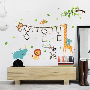 Photo Frame Cartoon Decorative Vinyl Wall Sticker -