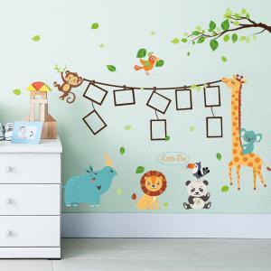 Photo Frame Cartoon Decorative Vinyl Wall Sticker