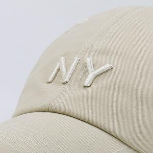 Letters Embroidered Sunscreen Baseball Hat - KHAKI