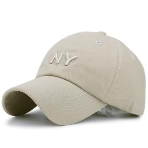 Letters Embroidered Sunscreen Baseball Hat