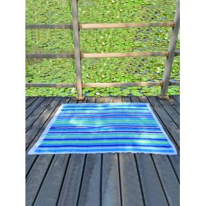 Chiffon Stripe Rectangle Beach Throw