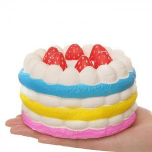 1Pcs Slow Rising Strawberry Cake Squeeze Squishy Toy -
