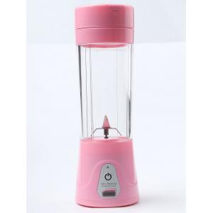 USB Charge Fruit Stirring Healthy Multifunctional Juicer Cup - ROSE PÂLE
