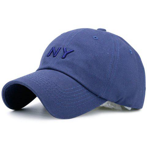 Unique Letters Embroidered Sunscreen Baseball Hat