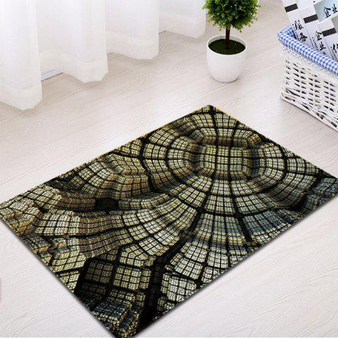 Affordable Patterned Indoor Outdoor Water Absorption Area Rug - W16 INCH * L24 INCH EARTHY Mobile
