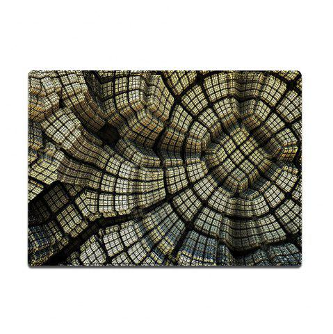 Store Patterned Indoor Outdoor Water Absorption Area Rug - W16 INCH * L24 INCH EARTHY Mobile