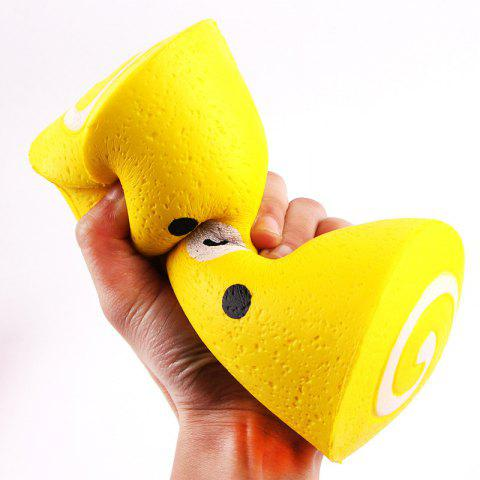 Shops Soft Stress Relief Cake Roll Squishy Toy - YELLOW  Mobile
