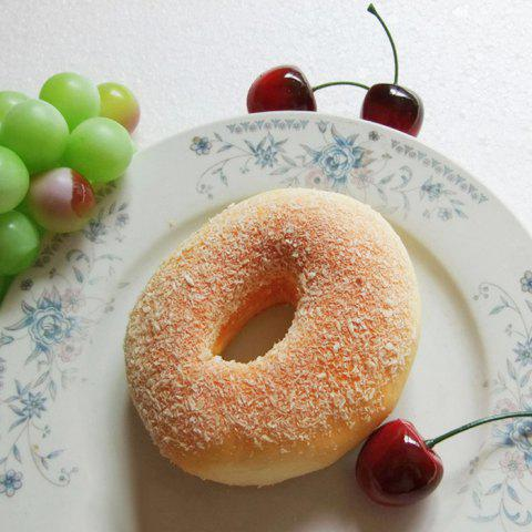 Online Squishy Toy Simulation Donut Bread PU Model - YELLOW  Mobile
