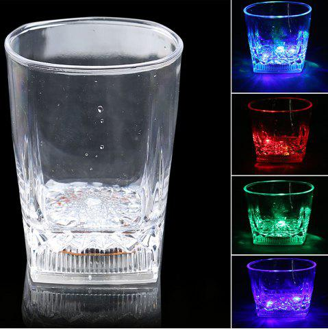 LED Flash Inductive Rainbow Color Changing Cup