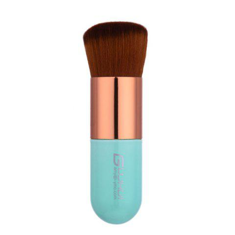 Outfits Makeup Domed Bronzer Brush - LIGHT GREEN  Mobile