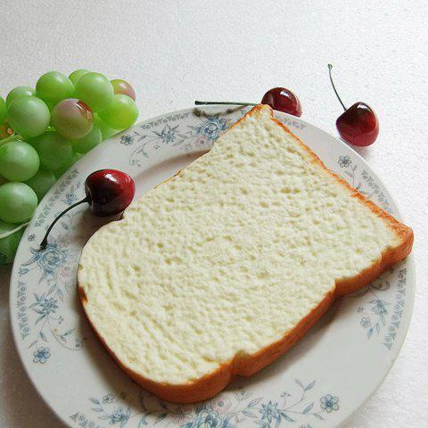 1Pcs Squishy Toy Home Decor PU Simulation Toast