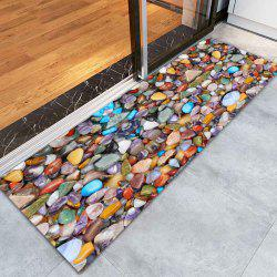 Sea Stone Pattern Indoor Outdoor Water Absorption Area Rug