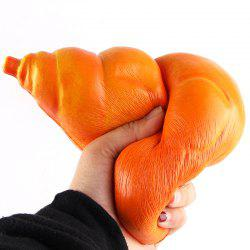 Cartoon Chicken Leg Bread Slow Rising Squishy Toy - ORANGE