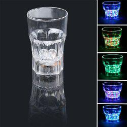 Inductive Rainbow Color LED Flash Whisky 285ml Mug -