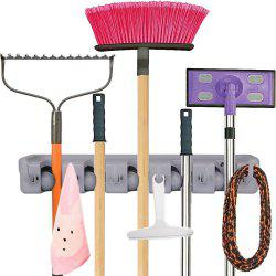 Household Wall Mounted Broom Mop Storage Rack