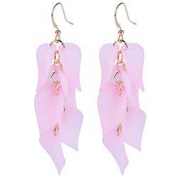 Petals Design Hook Earrings