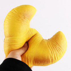 Stress Relief Croissant Shape Squishy Toy -
