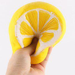 Lemon Design Slow Rising Fun Squishy Toy