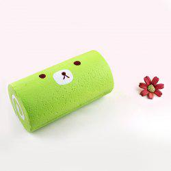 Soft Stress Relief Cake Roll Squishy Toy - GREEN