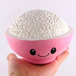 Cute Cartoon Rice Anti-stress Squishy Toy
