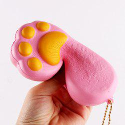 Antistress Bear Claw Squishy Toy Simulation Cake - PINK