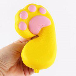 Antistress Bear Claw Squishy Toy Simulation Cake - YELLOW