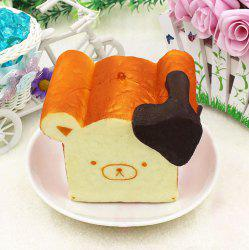 Slow Rising Simulation Squishy Toy Bear Shape Bread