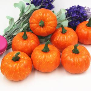 Anti Stress Pumpkin Shape Slow Rebound Squishy Toys - ORANGE