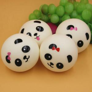 Random Decorative Cartoon Panada PU Squishy Toy - Random Color - 7cm