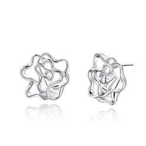 Flower Filigree Tiny Stud Earrings