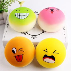 Emoji Bread Slow Rising Squishy Toy - RANDOM COLOR