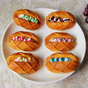 1 Pcs Squishy Toy PU Simulation Butter Bread Model