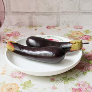 Artificial Foam Vegetable Decorative Simulation Eggplant -