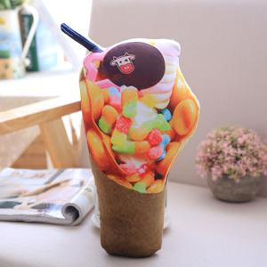 Simulation Ice Cream Throw Pillow Squishy Food Toy